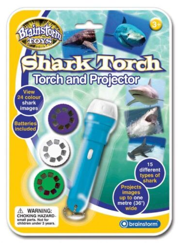 Shark Torch and Projector Projects Images Up To One Metre Wide