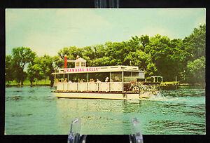 Postcard-The-Wawasee-Bell-on-Lake-Wawasee-Syracuse-Indiana-Posted
