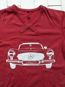 Scruff Mercedes T-Shirt Herren Größe L-Cool Style & DESIGN-cool