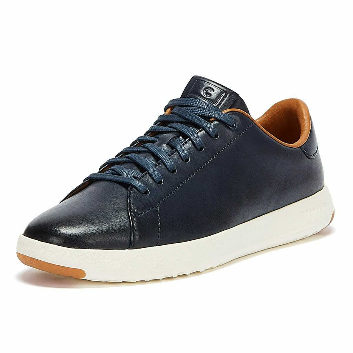 Cole Haan Grandpro Tennis Mens Navy Trainers Sneakers Sports Shoes Comfy Soles