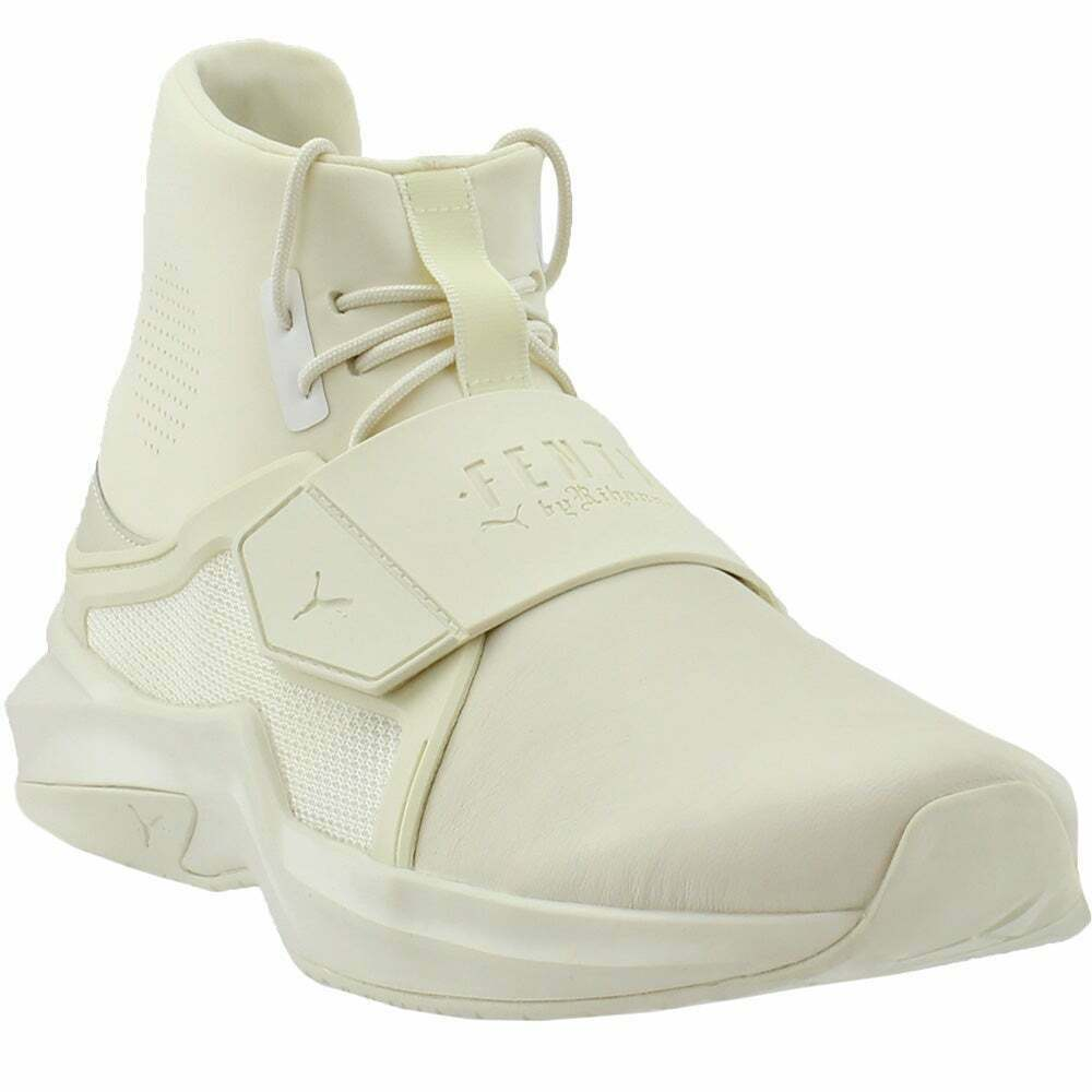 Puma Fenty by Rihanna The Trainer High Sneakers Casual Sneakers White  Womens -
