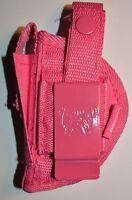 Pink Gun Holster For Taurus Pt-22,pt-25 +free Makeup Palette