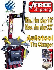 "TIRE CHANGER TIRE MACHINE 20-22"" capacity AUT-503 - 626 Motor 1.6 HP"