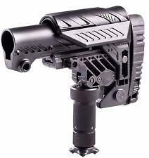 ARS-S CAA Tactical Black Multi Position Sniper Stock Made of Aluminium & Polymer