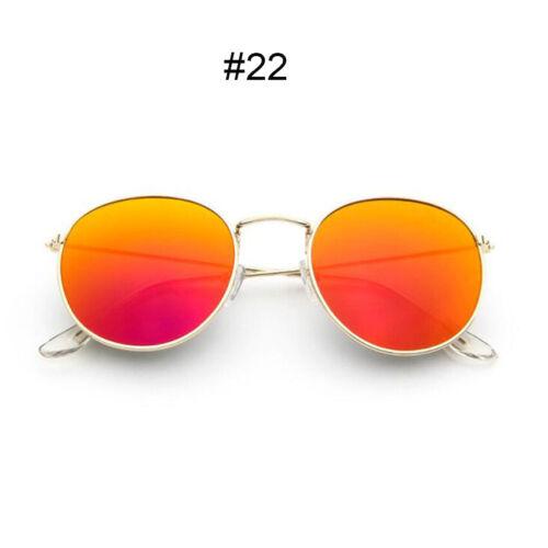 Fashion Oversized Round Sunglasses Men Women/'s Vintage Retro Mirror Glasses HOT
