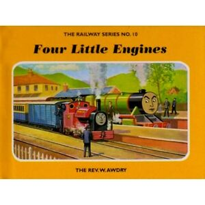 Details about SIGNED Railway Series No 10 Four Little Engines by  Rev W Awdry New H/B