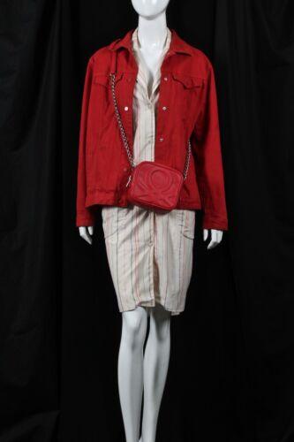 Rouge Rouge Femme Uk8 Femme Veste Jeans Veste Jeans Uk8 xqgWzFwU0x
