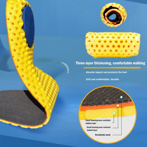Sweat  Shock Absorption Comfort Military Training Sports Insoles 50