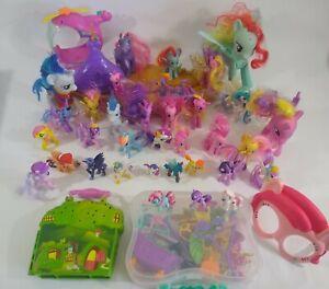 My Little Pony Figure LOT & Equestria Dolls