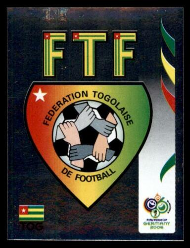 512 Panini WORLD CUP 2006-equipo emblema Togo no