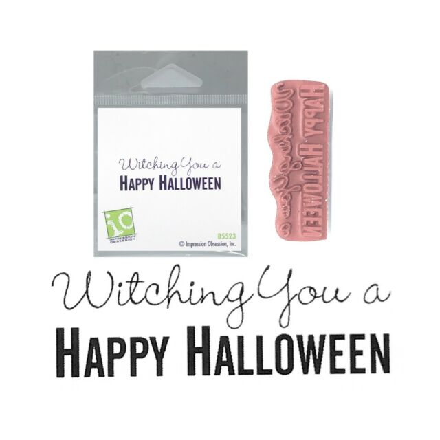 Wishing You Simple Joys Cling Rubber Stamp B13650 Impression Obsession IO