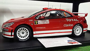 PEUGEOT-307-WRC-RALLYE-MONTE-CARLO-2004-5-TOTAL-GRONHOLM-au-1-18-AUTOart-80455