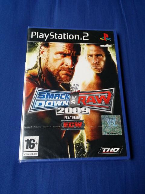 """Juego """"Smackdown vs RAW 2009"""" para PS2   PAL ESPAÑA"""