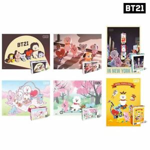 BTS-BT21-Official-Authentic-Goods-500pcs-Jigsaw-Puzzle-6Type-Tracking