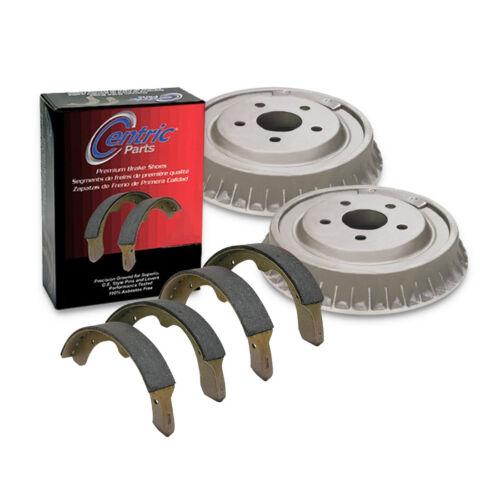 Centric Rear Brake Drum/&Premium Shoe 3PCS For 1990 Plymouth Acclaim