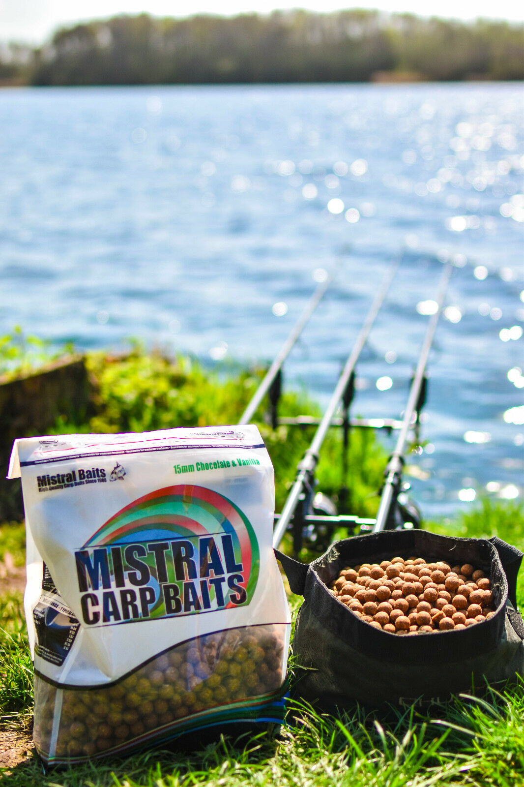 Carptrix Chocolate & Vanilla 15mm 5KG Boilies, Special Edition, FREE P&P