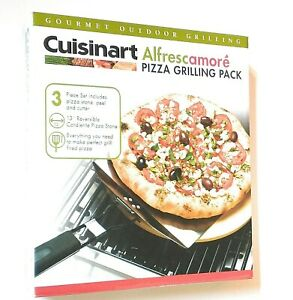 Stainless Steel 3-Piece Pizza Grilling Set Cuisinart CPS-445