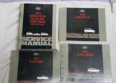 1995 Ford Aspire Service Shop Repair Workshop Manual OEM Factory Book 1995