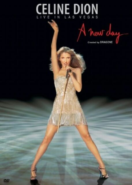 Celine Dion - Live In Las Vegas - A New Day (2 DVD boxed set, 2007)