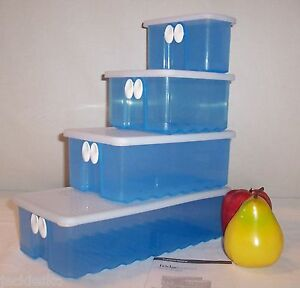 Tupperware-BLUE-FridgeSmart-You-CHOOSE-Size-NLA-Fridge-Smart-Vent-Storage