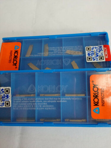 10pc MGMN150-G NC3020 1.5mm Carbide Insert for MGEHR//MGIV​R Grooving Cutting CNC