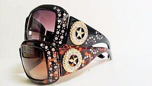 Womens-Fashion-Rhinestone-Sunglasses-Cowgirl-Star-Bling