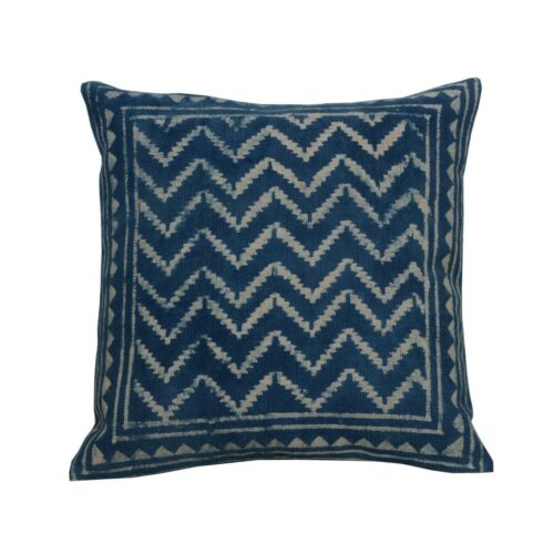 3 set of Wooden Block Printed Hand Woven Kilim Cushion Cover Throw Pillows 4032