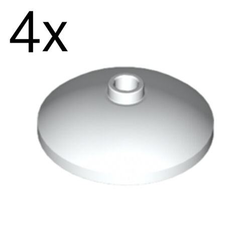 Radar NEW LEGO 4x White Dish 3 x 3 Inverted 4179580 43898