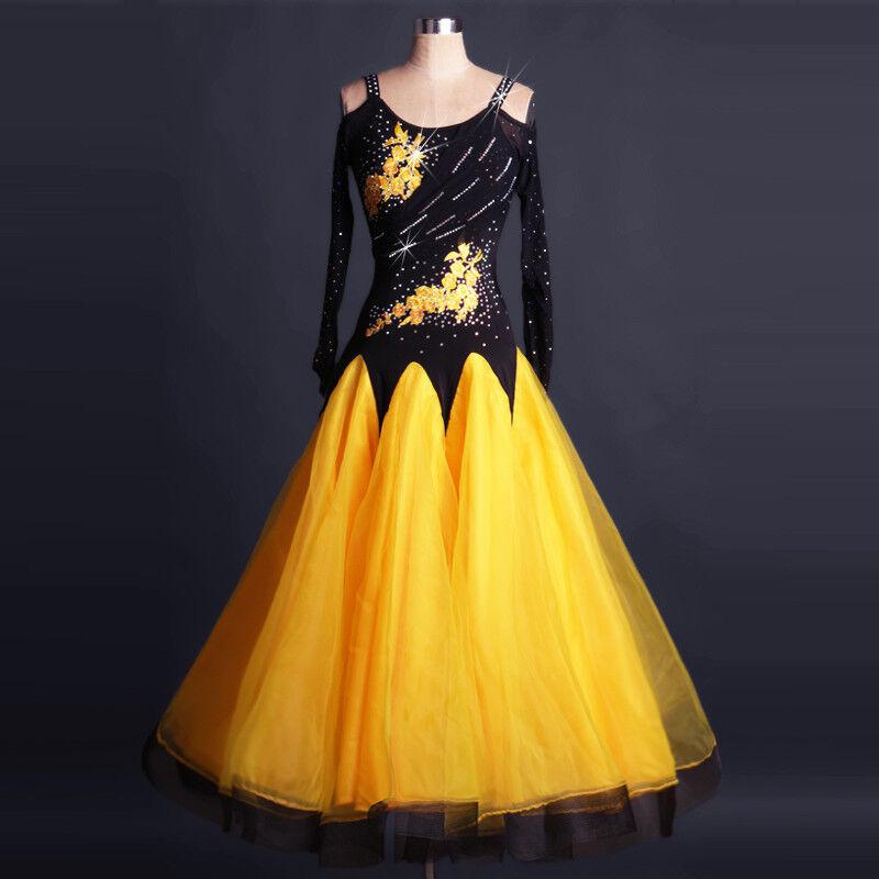 NEU Latino salsa Kleid TanzKleid Standard LatinaKleid Latein Turnierkleid FM190