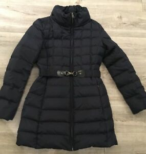 Uk rimovibile Down Hallhuber con Feather rrp Belt Jacket 6 Size cappuccio 250 £ 4wq8wYd