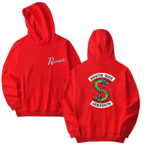 Warm Sweater Riverdale Southside Serpents Kapuzen-Pullover Sweatshirt men Hoodie