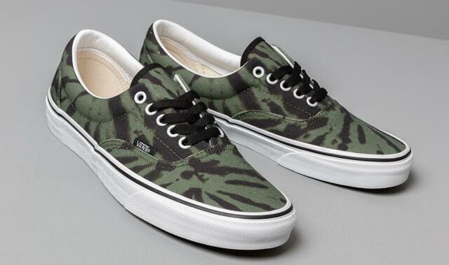 Skate 5 Dye Size Garden Men's Shoe Era Tie 10 White GreenTrue Vans Classic 5AR3LScj4q