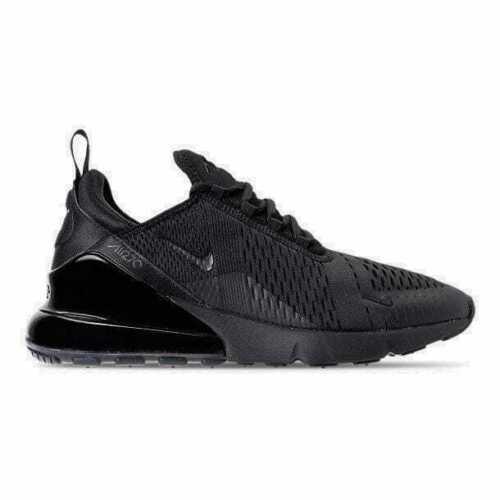 Men/'s Nike Air Max 270 Casual Shoes Triple Black AH8050 005