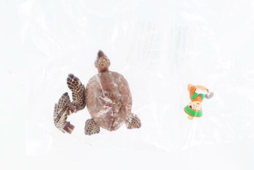 DBZ HG Series Gashapon Mini Figure Son Gohan /& Turtle Renewal Color Version