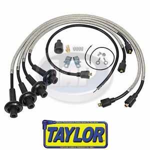 VW Bug Bus 8mm Taylor Spiro SST Stainless Spark Plug Wire Set ...