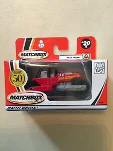2001-Matchbox-20-Road-Roller-New-Boxed