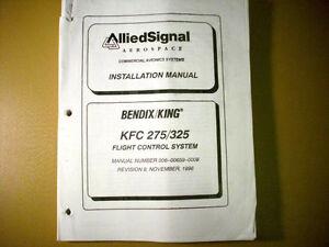king kfc 275 kfc 325 install manual ebay rh ebay com bendix king kfc 225 autopilot manual Bendix King Avionics