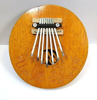 Kalimba mit 7 Zungen  Daumenklavier Musikinstrument Kalimbas Hand Percussion