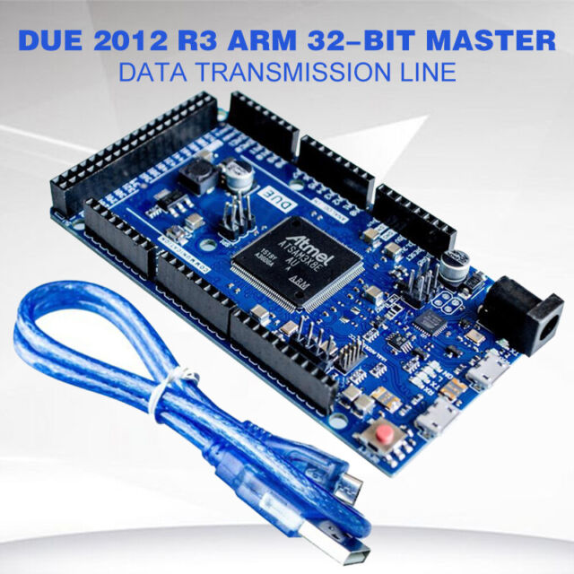 R3 32 Bit ARM control module Arduino DUE with USB Cable 3D printer Reprap