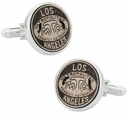 Los Angeles Transit Pegno Gemelli Placcati Placcati Placcati in argentoo Sterling Simboli & Icone 2ed15e