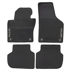 2011 2018 Vw Volkswagen Jetta Sedan Monster Rubber Floor Mats Set Oe Genuine New Ebay