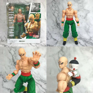Dragon-Ball-Z-Tien-Shinhan-amp-Chiaotzu-Figure-Model-15cm-New