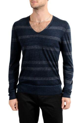"""John Varvatos /""""Artisan/"""" Men/'s Silk Cashmere Deep V-Neck Sweater"""