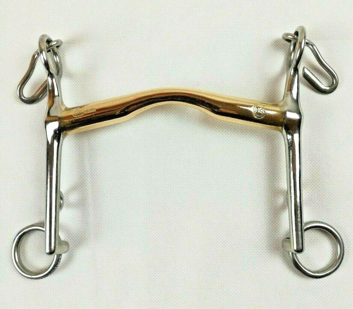 Sprenger HO-Kandare aus  Aurigan mit langen Anzügen, Stärke 16 mm