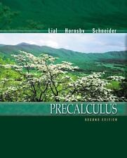 Precalculus (2nd Edition), Schneider, David I., Hornsby, John, Lial, Margaret L.