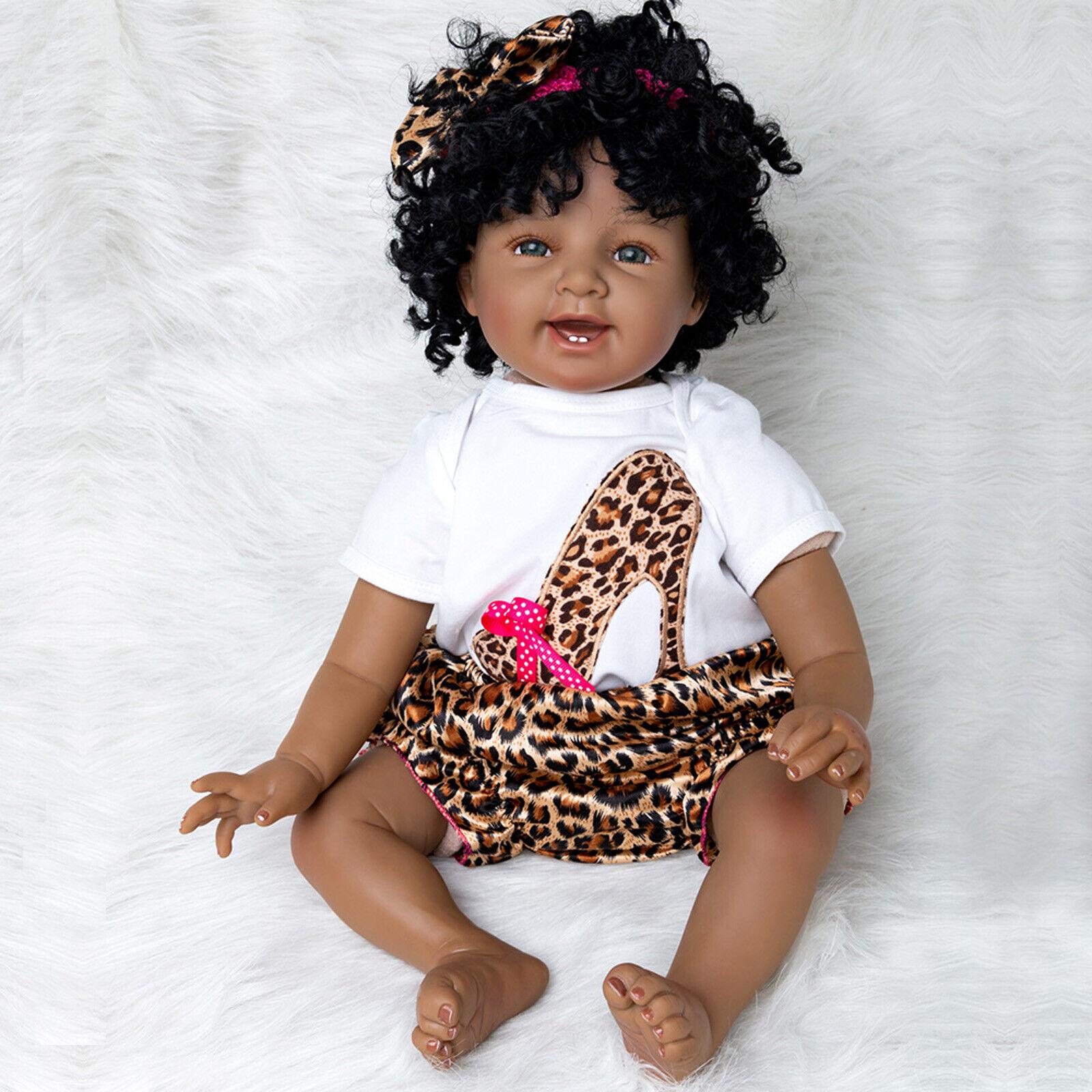 22  realistico Bambole Reborn fatto a mano neonato Ragazze Bambola Morbido Vinile regali