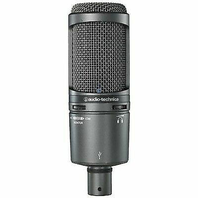 Audio Technica At2020usb Plus USB Recording Mic W headphone Output Mix Control
