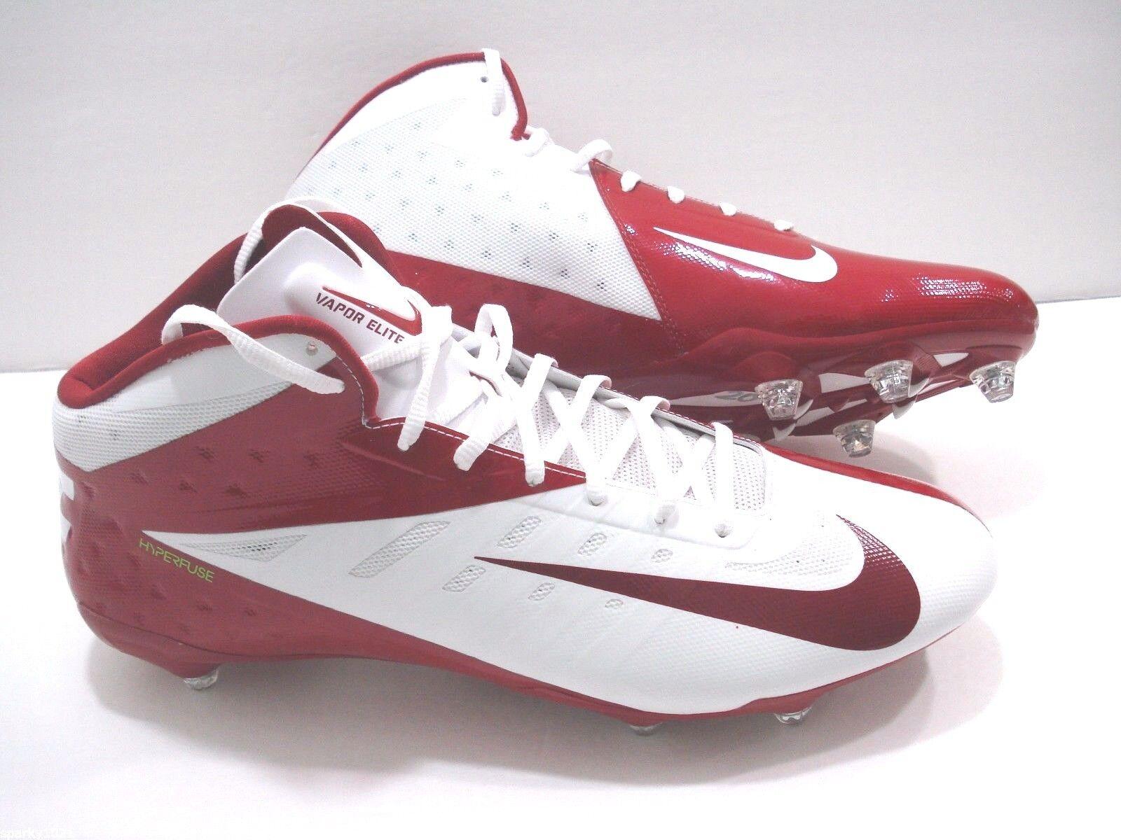 Nike Men's Vapor Talon Elite Pro Mid 3 4 D Football Cleats Size 16