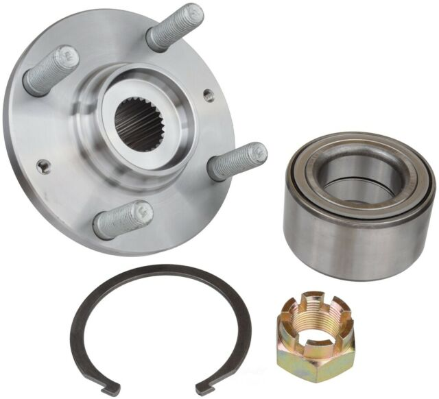 Axle Bearing and Hub Assembly Repair Kit Front SKF BR930592K