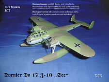 "Dornier Do 17 Z-10 ""See""       1/72 Bird Models Umbausatz / resin conversion"